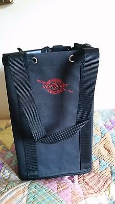 Mid-Duty Polyester Nantucket Craft Bagg  (Black color)