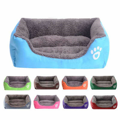 Large Pet Dog Cat Bed Soft Warm Puppy Cushion House Pet Kennel Dog Mat Blanket