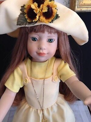 "18"" Magic Attic Club Megan Doll, All Jointed Hard Vinyl"