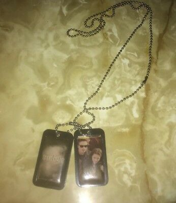 Twilight Dog Tags Necklace