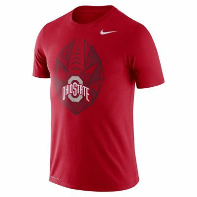Ohio State Buckeyes Mens 2018 Dri-Fit Icon T-Shirt Red