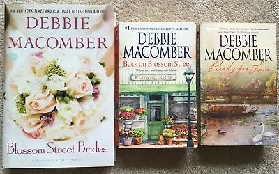 Lot 3 Debbie Macomber: Back on ... Blossom Street Brides + 2-in-1 Ready for Love