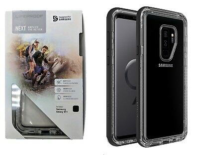 wholesale dealer 1cc4f ca375 LIFEPROOF NEXT CASE Cover for Samsung Galaxy S9 Plus S9+ Clear Black Crystal