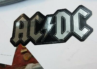 Ac/dc Angus Sticker New 2001 Vintage Oop Rare Collectible