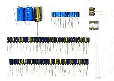 Complete set of new electrolytic capacitors - Revox B215-S and H1 - Repair Kit