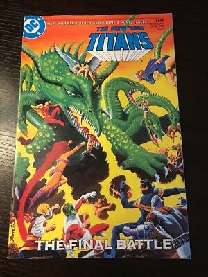 "The New Teen Titans#9 Incredible Condition 9.0(1985)""The Final Battle"""