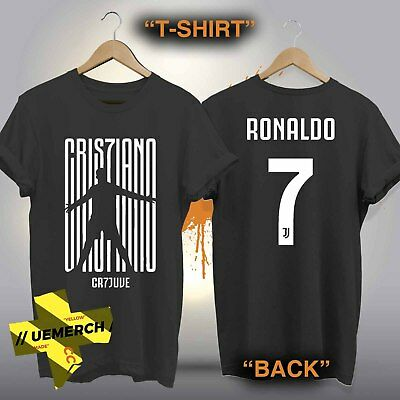 Juventus Cristiano Ronaldo CR7 T-shirt, Cotton,100% New Forza Men's, Kids 2018