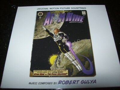 Cd - Atom Nine Adventures - Robert Gulya - Limited - Sealed - Sweden