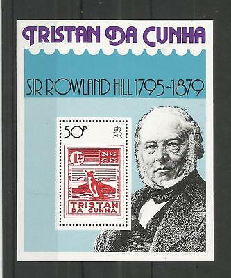 Tristan Da Cunha 1979 Sir Rowland Hill Minisheet Sg,ms267 U/mint Lot 8208A