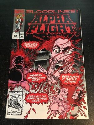 Alpha Flight#114 Incredible Condition 8.5(1992)