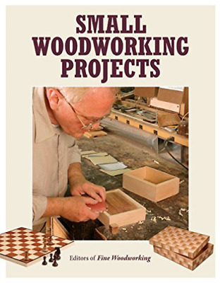 The Editors Of Fine Woodw-Small Woodworking Projects  (UK IMPORT)  BOOK NEW