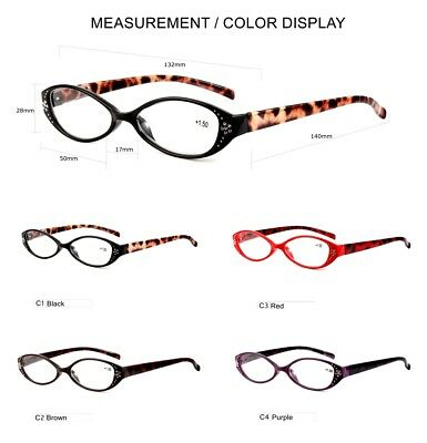 c73a92102506 Womens Reading Glasses Classic Vintage Readers Tortoise 1.0 1.5 2.0 2.5 3.0  3.5