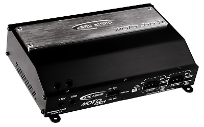 Arc Audio Moto 600.4 Motorcycle 4-Channel Amplifier - NEW!!