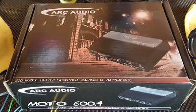 Arc Audio Moto 600.4 Motorcycle 4-Channel Amplifier - Demo!