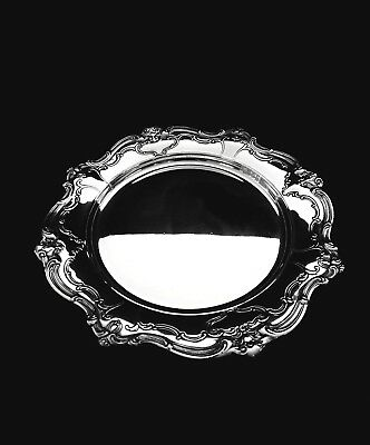 Gorham Chantilly Duchess Sterling Silver Bread Plate - 6 1/4""