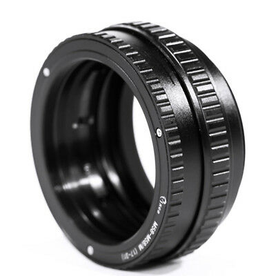M58 to M58 Mount Lens Adjustable Focusing Helicoid Macro Tube Adapter 17 to 31mm