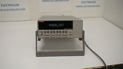 KEITHLEY 6485 SINGLE CHANNEL 5.5 DIGIT 20fA-20mA VOLTAGE PICOAMMETER