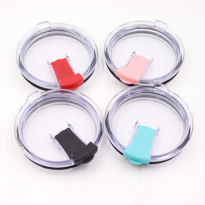 20 30 Oz Spill And Splash Resistant Lid With Slider Closure Cover Shell 3 Colors