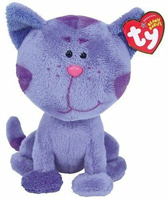 NWT Ty Beanie Babies PERIWINKLE the Nick Jr. Blues Clues Cat Plush Baby Toy