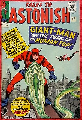 Tales to Astonish 55 Marvel Silver Age 1964 Giant Man vf/nmt