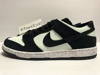 sports shoes d2dc6 5b63d Nike SB Zoom Dunk Low Black Barely Green 854866 003 Men s Size 13