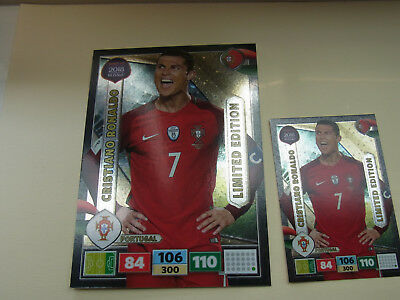 Panini Adrenalyn XL Road to Russia Limited Edition Chr.Ronaldo XXL Portugal