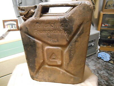 WW2 German Gas Can  used heer luftwaffe  jerry can