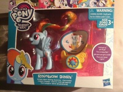 My Little Pony Fim Rainbow Dash Royal Spin A Long Chariot