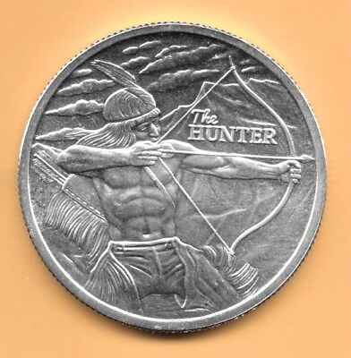 2017 - The Hunter  .999 Silver Round