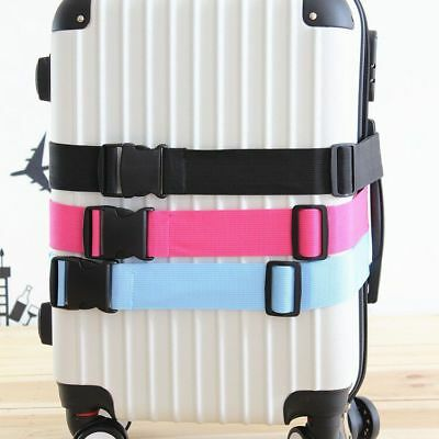 Suitcase Luggage Straps Travel Buckle Baggage Tie Down Belt Adjustable