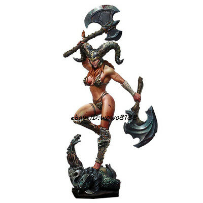 Unpainted Garage Kit 1//24 The Quest Warrior With Axe Resin Figure Model Statue