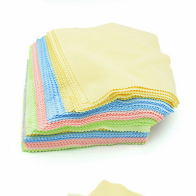 100Pcs Microfiber Cleaning Cloth for Phone Screen Camera Lens Eye Glasses