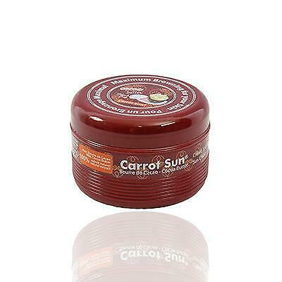 Carrot Sun Australia Cocoa Tanning Cream 350ml Accelorators