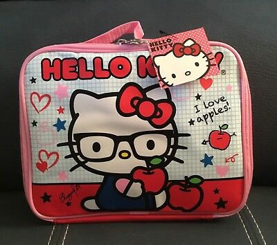 NWT Lunch Bag Insulated HELLO KITTY