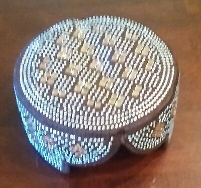 Sindhi Balochi Mens Hat/Cap/Kufi/Topi Hat Pakistan [Shipped from the USA]