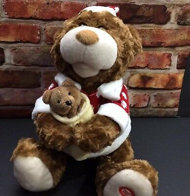 Animated Bear Plush Twas the Night Before Christmas Story Stuffed Animal Talking