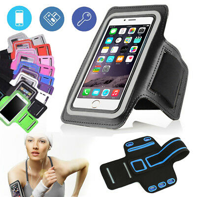 For iPhone X 8 7 Sport Running Armband Jogging Gym Arm Band Pouch Holder Bag USA