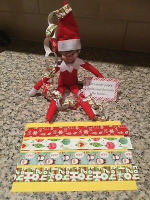 Handmade Accessories For Elf On The Shelf / Paper Chains
