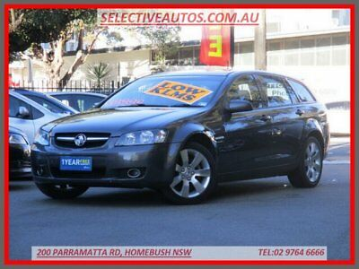 2009 Holden Commodore VE MY09.5 International Grey Automatic 4sp A Wagon