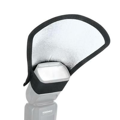 Universal Two-Sided Camera Flash Diffuser Attachment