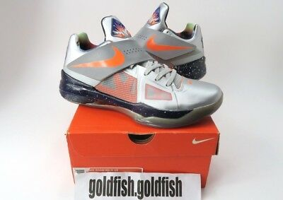 371a24ba5956 Ds Nike Zoom Kd 4 As Galaxy 520814 001 Silver 2012 All Star Kevin Durant