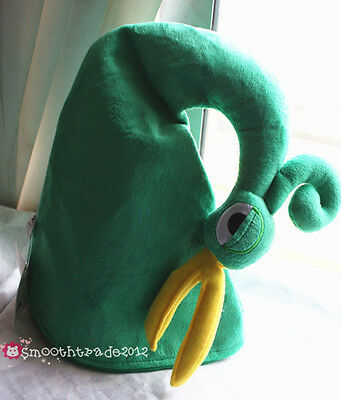 The Legend Of Zelda Minish Cap Link Cosplay Costume Party Green Plush Hat Gift