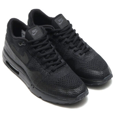 new product 47eca cc393 Nike Air Max 1 Ultra FlyKnit FK Running Shoes Black Anthracite 856958-001  size 9