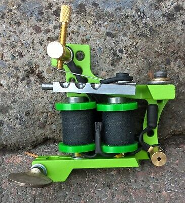 Border Tattoo Machine,shader / Packer Custom Iron Frame 8 Layer 32Mm Coils