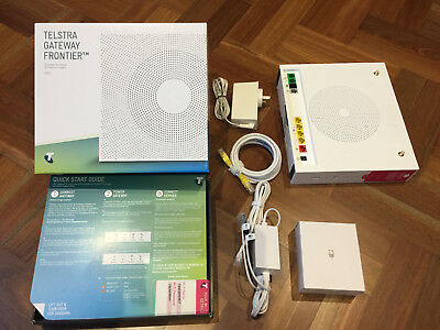 TELSTRA NBN CONNECTION Kit SagemCom 5355 Modem + T-Voice
