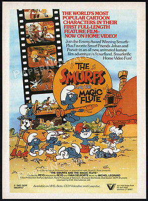 The Magic Flute new PB 2 volumes by Peyo Smurfette The Smurfs Graphic Novels