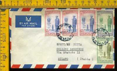 Africa Etiopia Ethiopie air cover to Italy li 317a