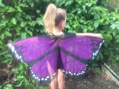AUST GRAPE Purple Butterfly Wings Costume Dressup KIDS CHILD New cosplay Soft