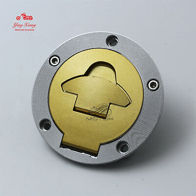 Fuel Gas Tank Cap Cover Lock fit for Ducati 848 996 998 999 1098 1198 S ST3 ST4S