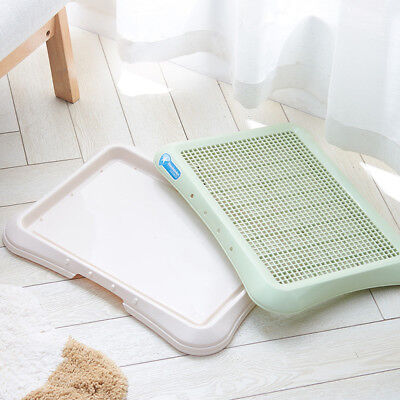 Indoor Pet Puppy Toilet Doggy Training Potty Patch Training Pad with Wall